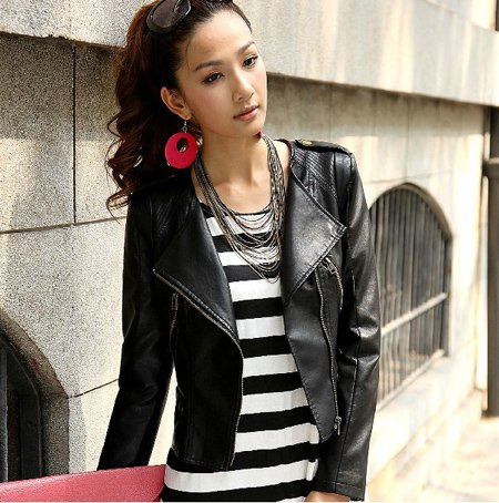 Fashion Leather Jackets Women 5ptgTl