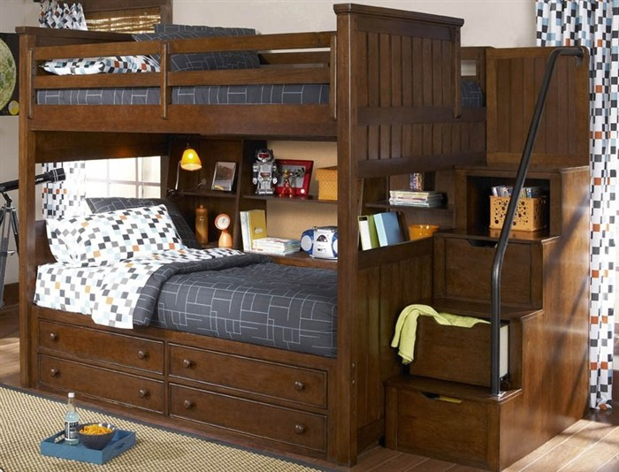 Amazing of Loft Bed With Stairs And Desk 25 Awesome Bunk