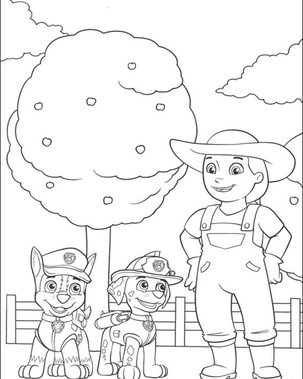 paw patrol coloring pages keep your engaged for