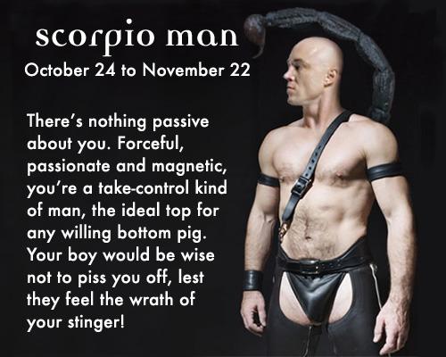 Scorpio Men