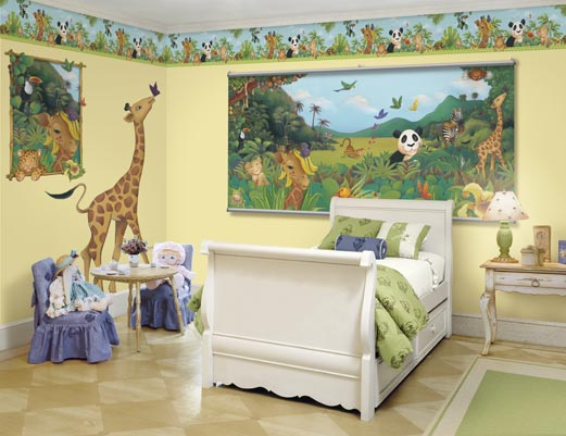 Nursery to a Bedroom 1